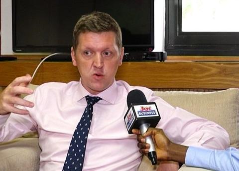 British High Commissioner Iain Walker