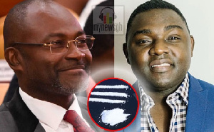 Kennedy Agyapong and Kevin Ekow Baidoo Taylor
