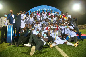 The title is Ghana's fourth having won previously in 1993, 1999 and 2009