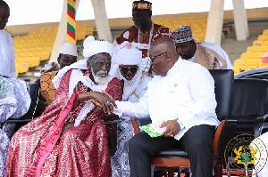 Nana Akufo-Addo and the National Chief Imam