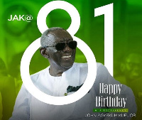 Her Excellency John Agyekum Kufuor is 81 years old
