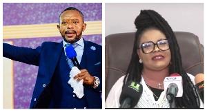 Owusu Bempah and Nana Agradaa