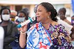 First lady, Mrs Rebecca Akufo-Addo