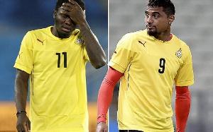 Sulley Ali Muntari and Kevin-Prince Boateng