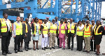 Gambian officials understudying operations at Ghana Port