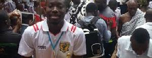 Ashgold's Eric Opoku
