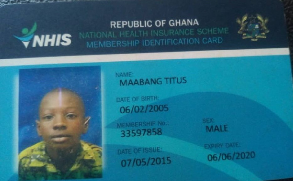 National Health Insurance card
