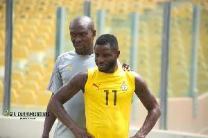 Mubarak Wakaso and former Black Stars coach, CK Akonnor