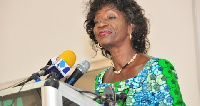 Madam Sherry Ayittey, Minister of Fisheries and Aquaculture Development