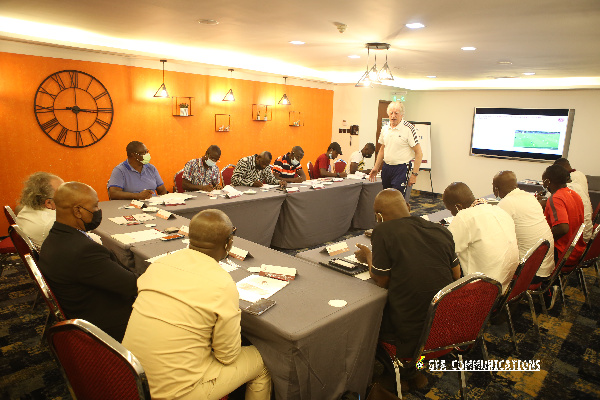GFA opens one week refresher course for male national team coaches