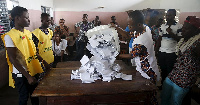 Vote are counted as the Beninese await the results of the election
