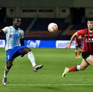 Ghanaian forward Frank Acheampong