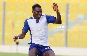Accra Great Olympics Striker Abdul Manaf Mudasiru