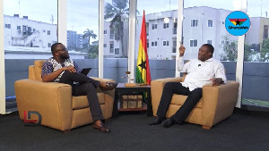 Hassan Ayariga appeared on GhanaWeb TV's The Lowdown with host, Ismail Akwei