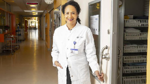 Dr Marylyn Addo is Head of Infectious Disease at the University Medical Center Hamburg-Eppendorf