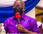 Rev Dr. Isaac Owusu, Central Regional Chairman of GNAT