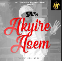"""The song titled """"Akyire Asem"""" translates to English as, The Aftermath, will be out next Wednesday"""