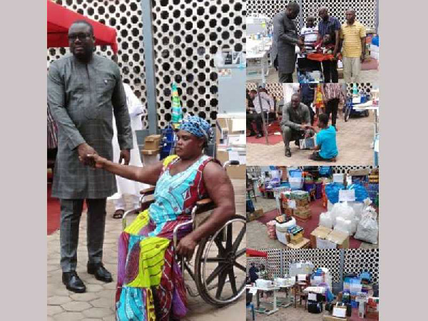 TMA support persons with disability with GHC119,785