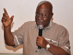 Nana Addo Dankwa Akufo-Addo, NPP flagbearer