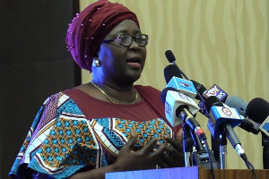 Hajia Alima Mahama, the Minister of Local Government and Rural Development
