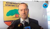 Mark Noonan, CEO of Accra Hearts of Oak