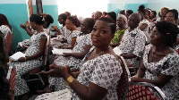 The organisaton's relentless campaign aims at improving adult literacy in Ghana.