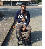 Ogidi Brown shares details on how he lost his legs