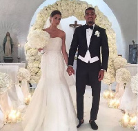 Kevin-Prince Boateng and Melissa Satta's wedding