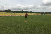 Black Stars' camp at Dodowa