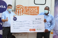 €250,000 Euro (GH¢1,719,444.45) donation to Food for All Africa (FFAA)