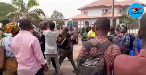 The customers were at the residence of NAM1 to demand their locked-up investments