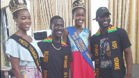 The Siriboe brothers and Miss Tourism Ghana winners