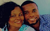 Anita Afriyie and her husband
