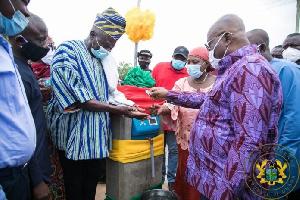 President of the Republic, Nana Addo Dankwa Akufo-Addo at the ceremony