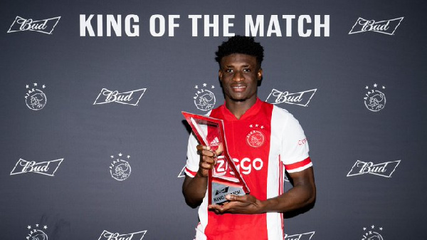 It\'s double feeling to win and play well - Mohammed Kudus after winning Man of the Match