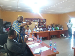 Executives of the Upper East Regional Peace Council
