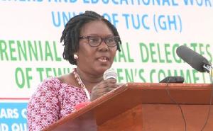 President of TEWU Women