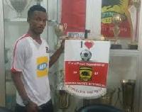 Kumasi Asante Kotoko new boy Osei Agyemang