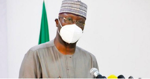 Chairman of the Presidential Task Force on COVID-19, Boss Mustapha