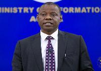 Director General of Ghana Health Service, Dr Patrick Kuma-Aboagye