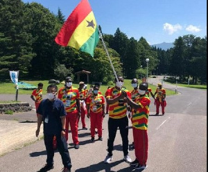 Ghana went to the Tokyo Olympic Games with 14 athletes from five disciplines