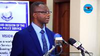 Director of Operations of Criminal Investigative Department, ACP Joseph Oklu Gyamera