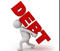 The current total debt stock is 68.6% of Gross Domestic Products (GDP)