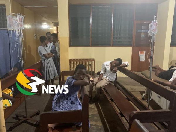 Dozens of Accra High students admitted over suspected food poisoning