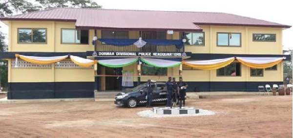 Dormaahene hands over multipurpose headquarters to Police Service