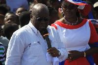 Nana Akufo-Addo and Ursula Owusu