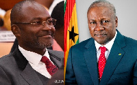 Kennedy Agyapong and Mahama