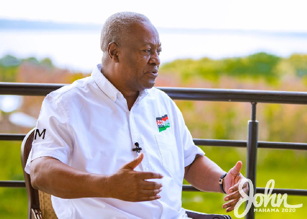 Mahama announces $10billion 'big push' infrastructural plan