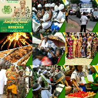 The festival allows the people of Ada to celebrate their Asafo companies