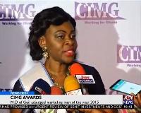 Elizabeth Arkutu, Managing Directors of Unilever Ghana Limited and GOIL
